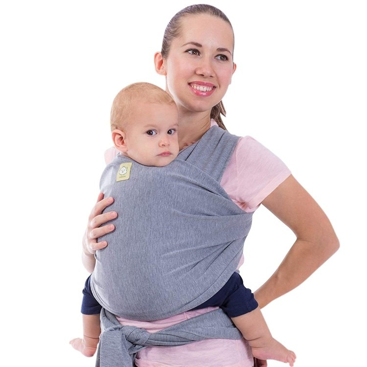 Baby Wrap Carrier All in 1 Stretchy Baby Sling Ergo Carrier Sling Baby Carrier Wraps Baby Carriers for Newborn Infant Baby Holder Straps Baby. 1