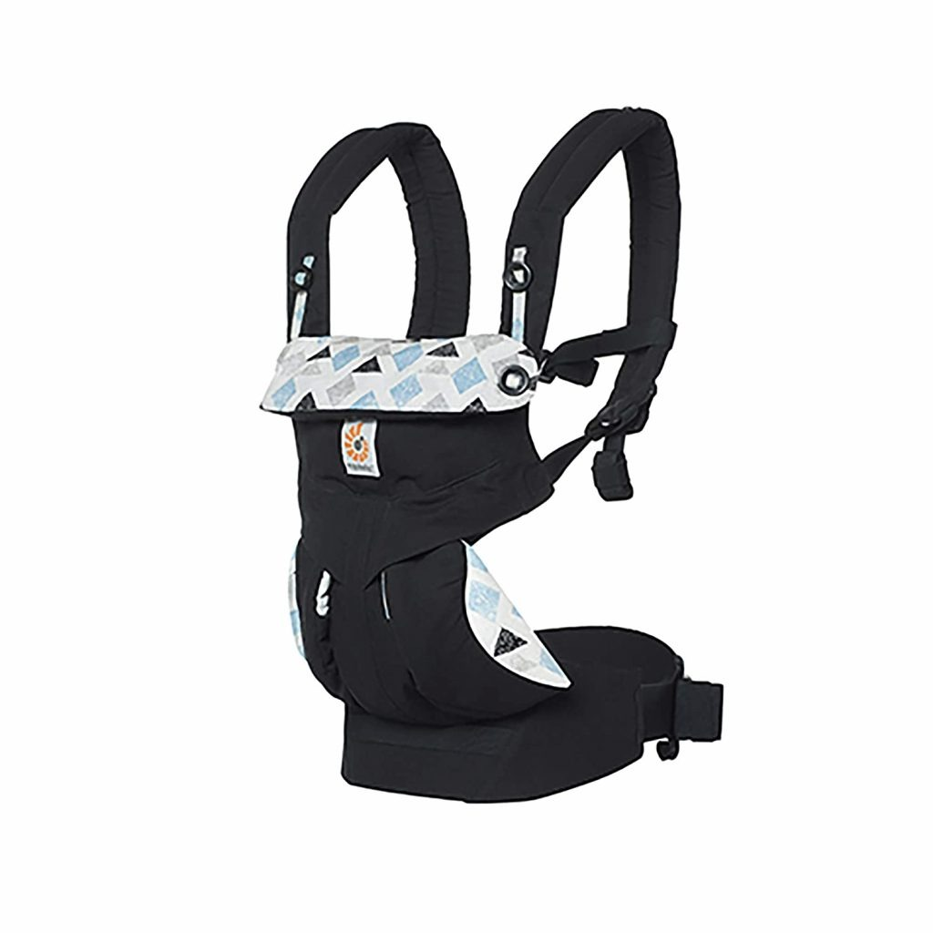 Ergobaby Carrier 360 Triple Triangles 4 Position Child Carrier and Backpack