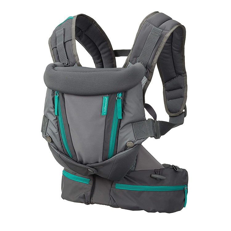 Infantino Carry On Carrier Ergonomic Expandable face in and face Out Front and Back Carry for Newborns and Older Babies 8 40- bs